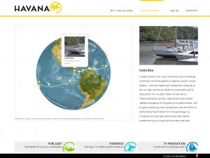 Interaktivt 3d verdenskort på Havana.dk